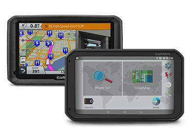 Garmin Fleet Navigation Devices